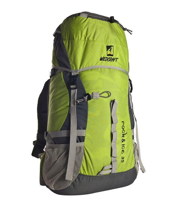 Wildcraft Rock & Ice Green Backpack