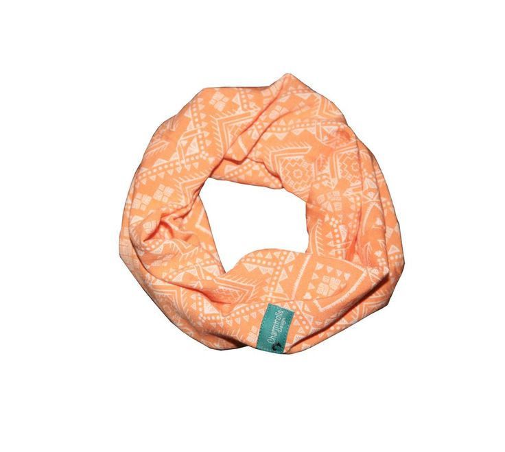 Peach Tube Scarve via Charmtrolls Design. Click on the image to see more!