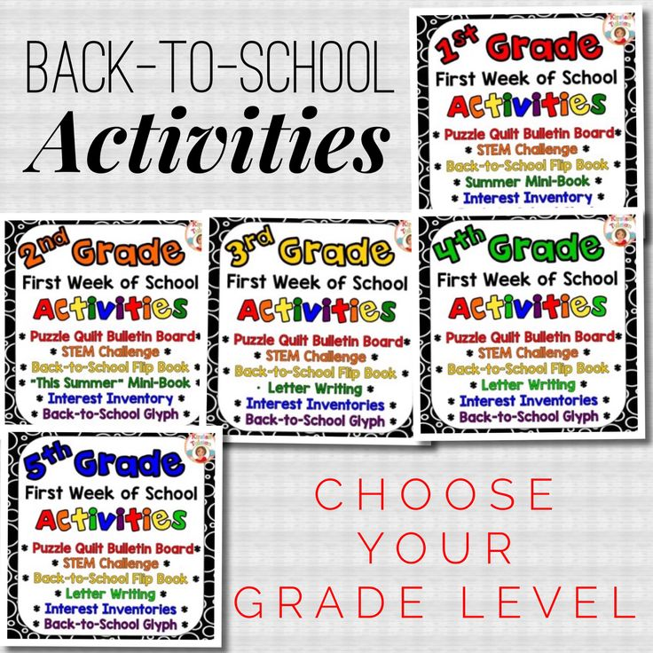 78 Best Images About Best Of Back To School: Starting The