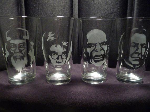Harry Potter Drinks Glasses