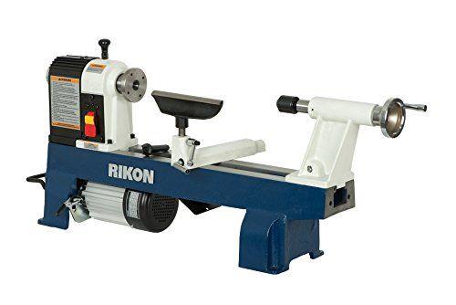 RIKON 70-100 12-by-16-Inch Mini Lathe | Benchtop Lathe