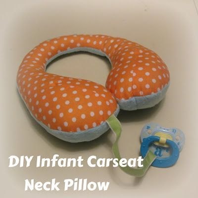 DIY+Infant+Carseat+Neck+Pillow+–+Reversible+–+Pacifier+Tether