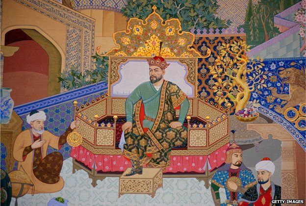 Tamerlane his nickname being Timur the lame because he was shot in the leg.  Timur the lame was an amazing leader. He had the most powerful military around the 1400's That is how he could overtake the Ottoman Empire. He halted their expansions very quickly.
