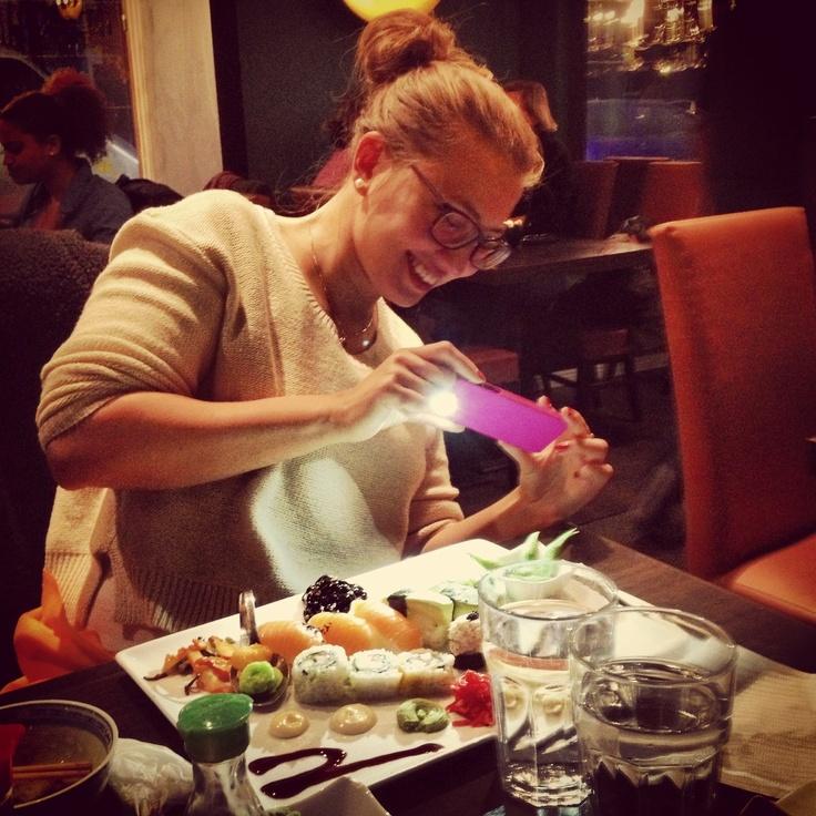 Sushi-bonanza shot. Courtesy ofDavid. #TriShakr #Moment #Trishaking #Foodie