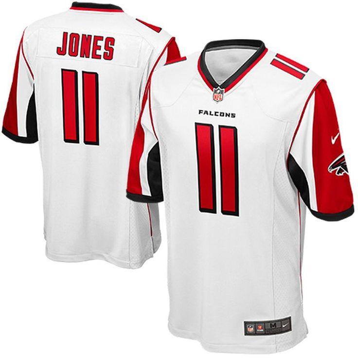 Julio Jones Atlanta Falcons Nike Game Jersey - White