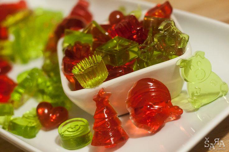 Gomas deliciosas, saudáveis e sem açúcar :) E o melhor? Fazem-se em 5 minutos...