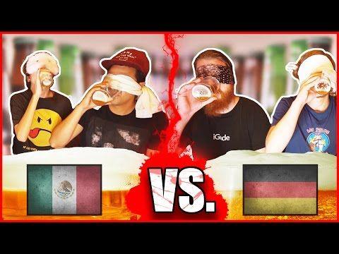Cerveza Mexicana VS Cerveza Alemana  México VS Alemania: Reto de Cerveza Amor Eterno y WeroWeroTV - Vivir en Alemania