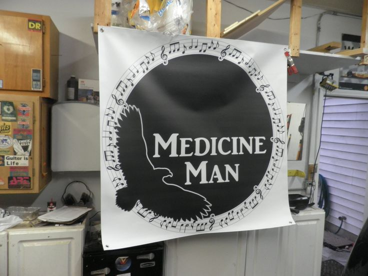 """""""Medicine Man Thanks you for the fantastic job you did on our banner, and speedy service!"""" -Herm JS"""