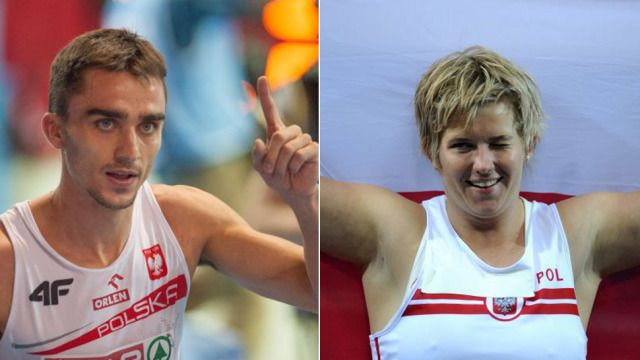 """Włodarczyk i Kszczot ze """"Złotymi Kolcami"""". http://sport.tvn24.pl/lekkoatletyka,128/wlodarczyk-i-kszczot-ze-zlotymi-kolcami,481736.html?magazineSubcategory=0"""