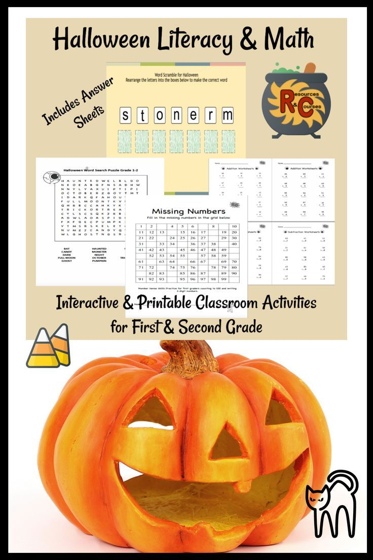 Engaging Activities To Celebrate Halloween Check Them Out Wordsearch Gamesforkids Lit Printable Teaching Resources Halloween Math Activities Math Answers [ 1103 x 736 Pixel ]