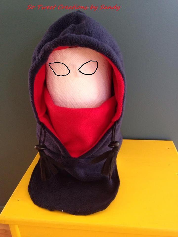 One piece fleece hoodie