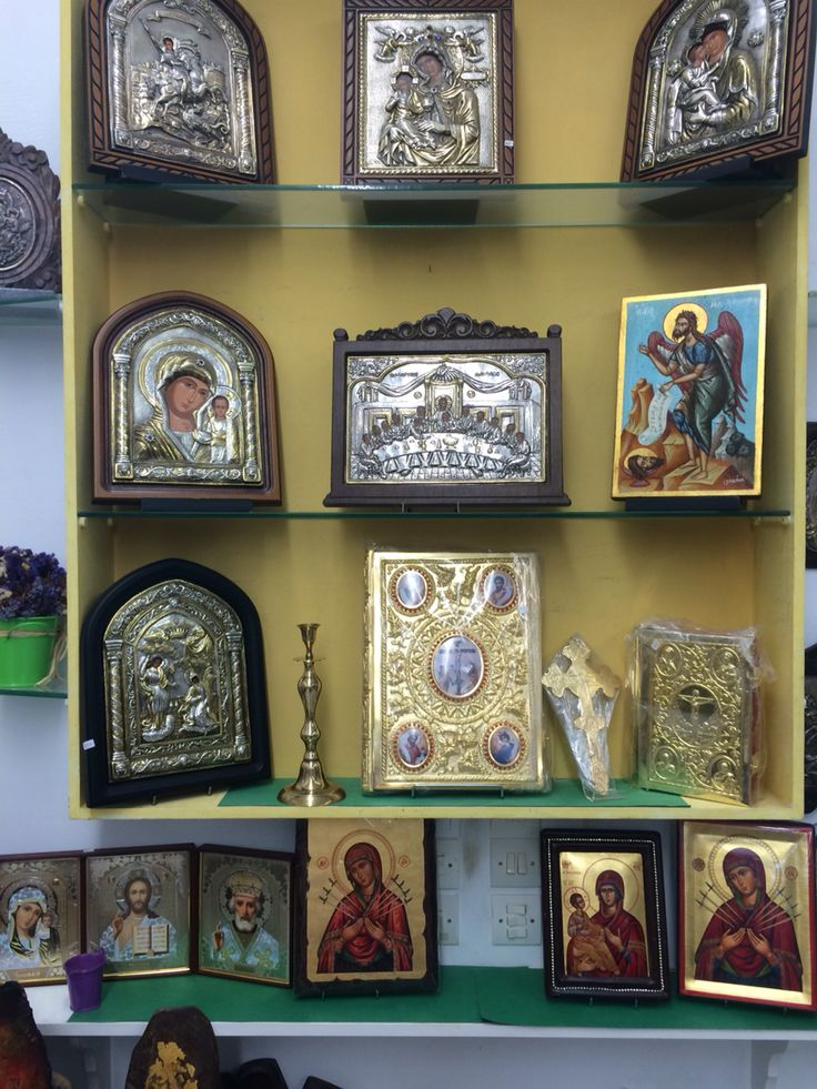Inside our Evaggelistrias 76 Tinos store display @nioras.com