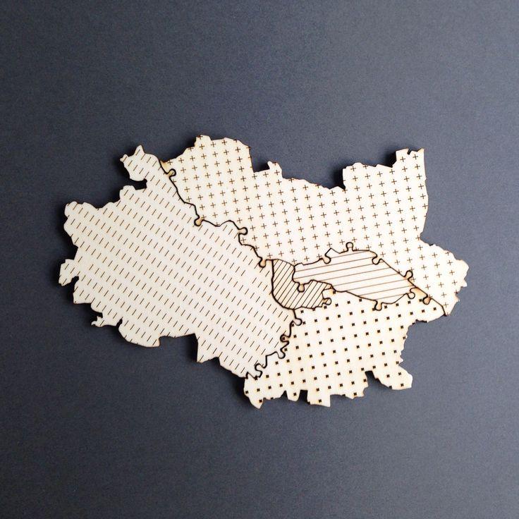 #wroclaw #dzielnice #osiedla #puzzle #magnesy #puzzlemiejskie #ulozsobiemiasto #lokalny #minimaldesign #plywood #madeinpoland