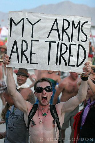 My Arms Are Tired    Burning Man 2007    Photo by Scott London    scottlondon.com