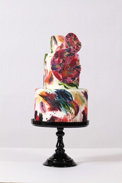 Nadia & Co. Art & Pastry   Cake Design   Kinetic Splash   Modern Cakes ****