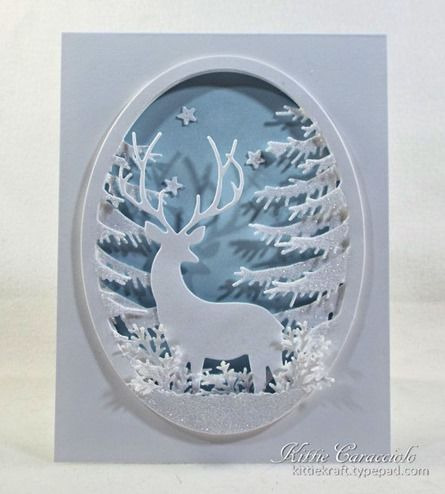 KC Memory Box Grand Stag Oval Frame 1 center                                                                                                                                                                                 More