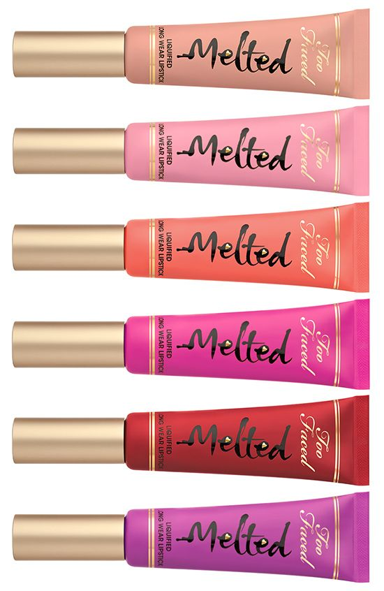 Les Melted Lipstick de Too Faced... Indispensables dans nos trousses à maquillage ! #TheBeautyHours