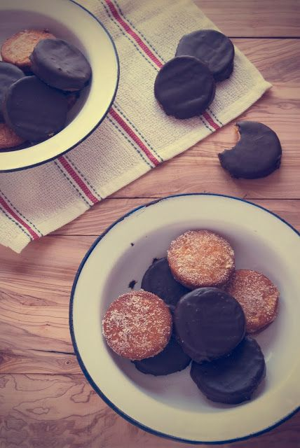 La asaltante de dulces: Receta de Galletas fritas/ Fried cookies recipe.