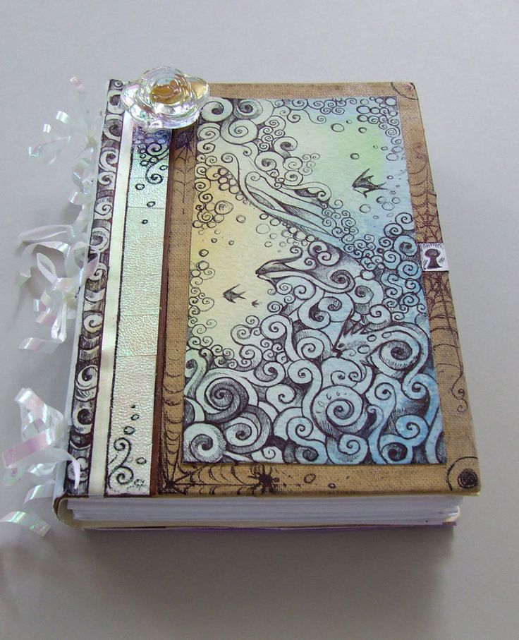 Cool Sketchbook Cover Ideas : Sea journal by crowandthefox on deviantart book and