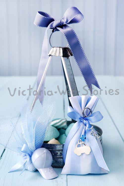 Μπομπονιέρες βάπτισης για αγόρι - Victoria Wed Stories