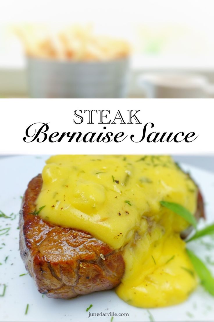 You will love this bernaise sauce recipe: a creamy homemade tarragon and butter sauce for your next steak dinner!!