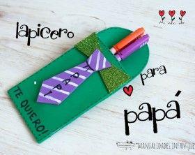 Lapicero de #GomaEva para el Día del Padre.