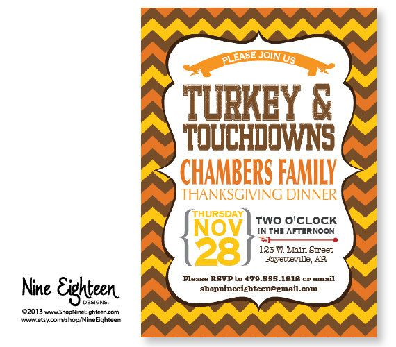 Best Thanksgiving Invitations Images On   Card Stock