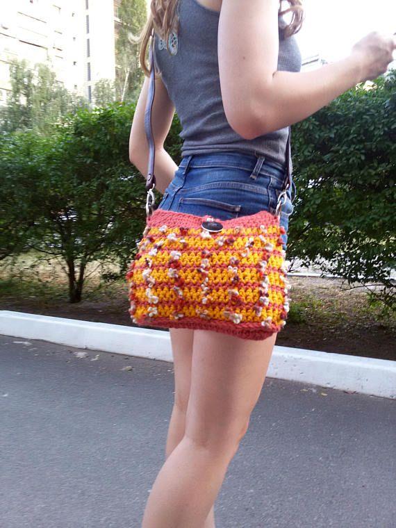 Elegant handmade handbag