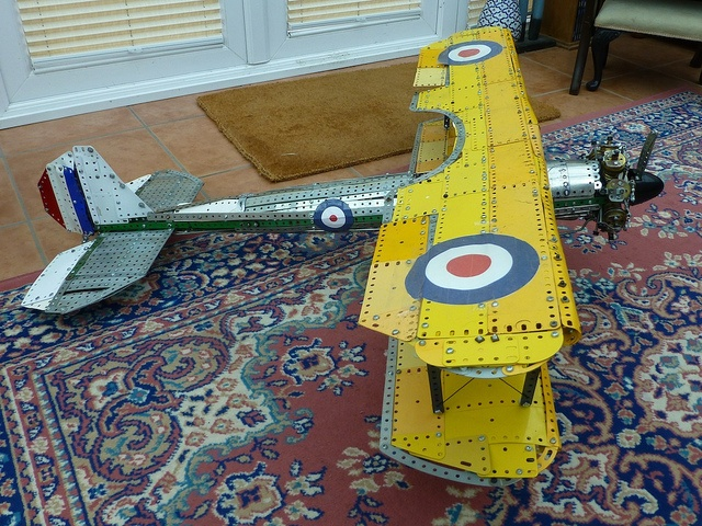 Bristol bulldog model in Meccano 6 by Les Chatfeild via Flickr