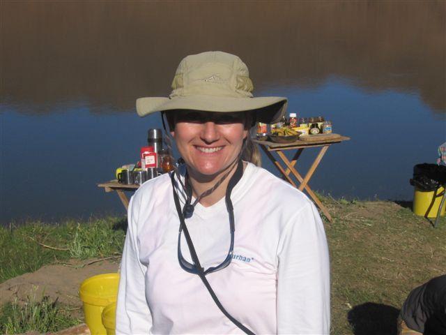 Esna on her rafting trip with Aquatrails, Orange River. www.dirtyboots.co.za @esnatheron #dirtyboots #orangeriver #paddling