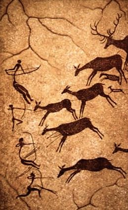 lascaux cave Montignac, France discovered in 1940, spectacular for both variety and number of paintings