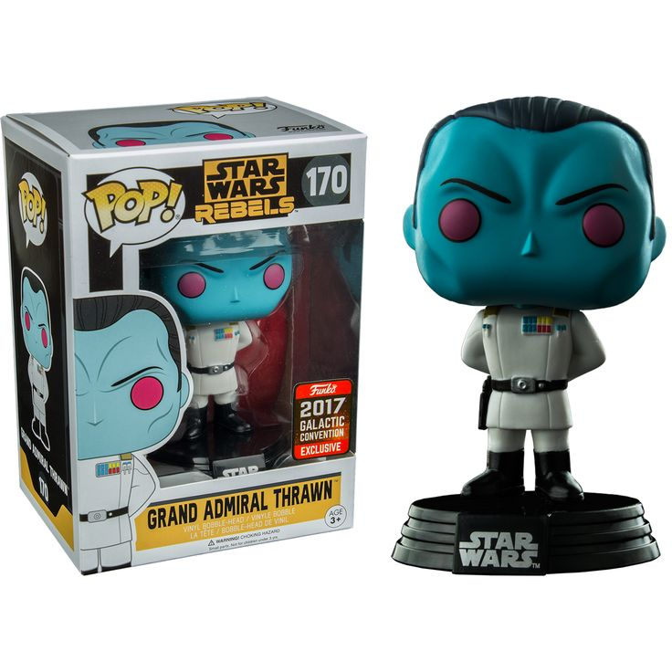 POP Star Wars Rebels Grand Admiral Thrawn 2017 Galactic Convention Exclusive (RS)