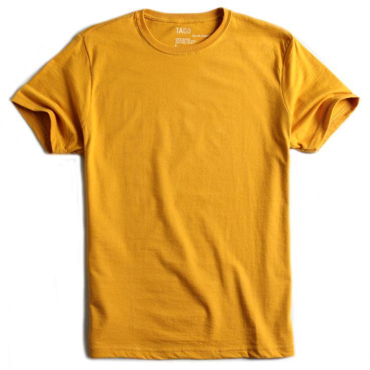 T-shirt-Basica-Comfort-Mostarda