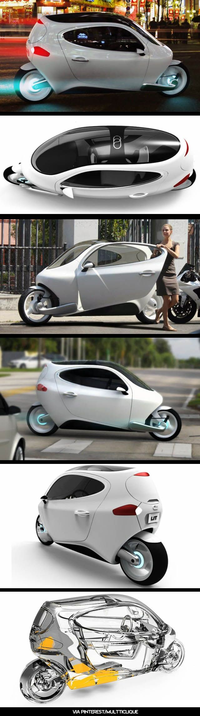 C1 by Lit Motors.  My new commuter for 2014.  Wondering if I should reserve one yet....