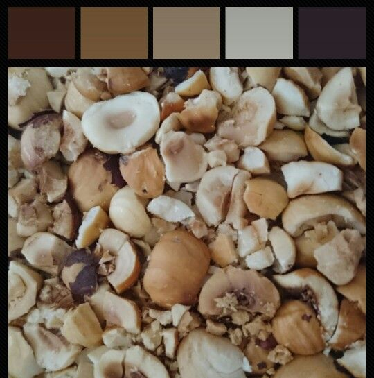 #Nature #nuts #color