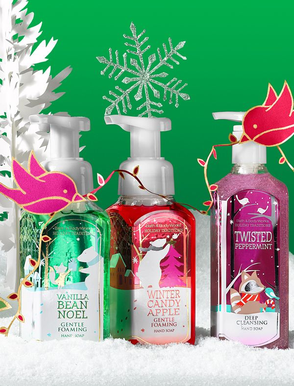 Spruce up their sink with soaps from our favorite season! #perfectchristmas