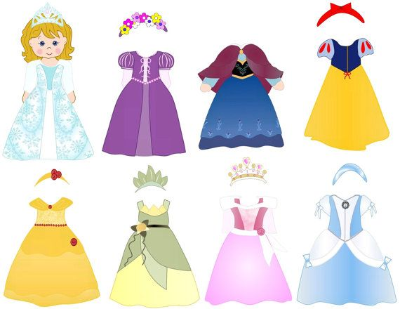 Disney Princess Dress Up - Help the Princess get ready ...