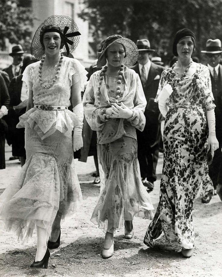 A párizsi divat a 1930-as fotó