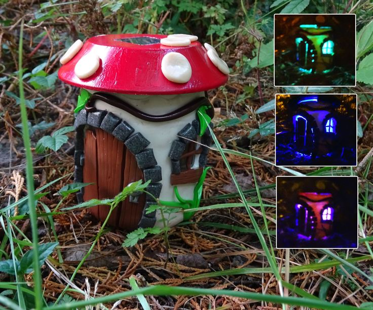 Hi,In this instructable I am going to show you a take on the fairy house night light but using a solar powered light. Its a relatively cheap instructable with the only potentially expensive material being the polymer clay but I think you will find once you are done it makes a great addition to the garden or window ledge.