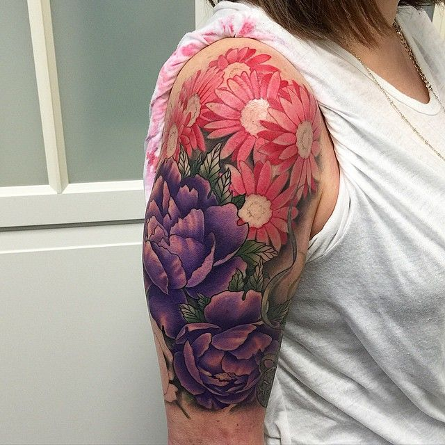 30 Tattoo Designs For Girls Ideas: 30 Nice Daisy Flower Tattoos