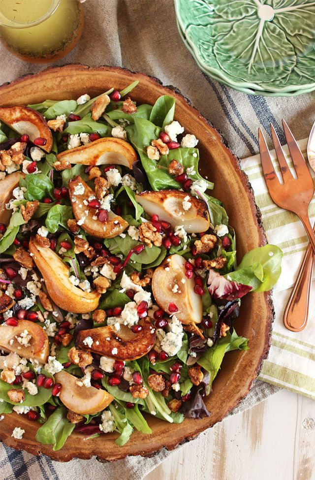 These delicious salads are perfect for fall!