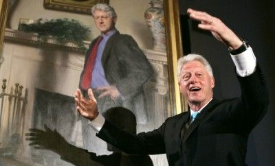Monica Lewinsky Recognized In Bill Clinton Painting http://naturallymoi.com/2015/03/monica-lewinsky-recognized-in-bill-clinton-painting/