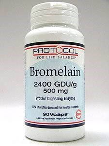Bromelain-2,400 gdu/500 mg 90 VegiCaps * Read more reviews of the product by visiting the link on the image.