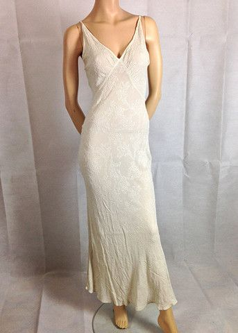 Ivory Ghost dress size M