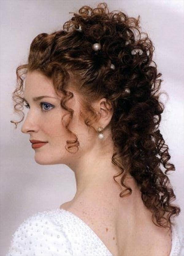 Diy Easy Handmade Hairstyles For Wedding Diy Crafts Hochsteckfrisuren Fur Lockiges Haar Verlobungs Frisuren Frisur Hochgesteckt