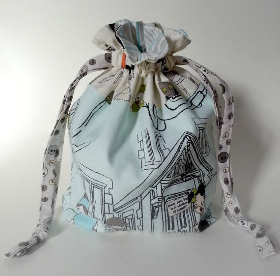 New items in the shop!  https://www.etsy.com/listing/209274595/zombie-drawstring-bag-book-toys-dice