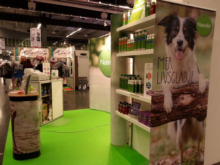 Our stand at MyDOG 3-6/1 in Gothenburg.