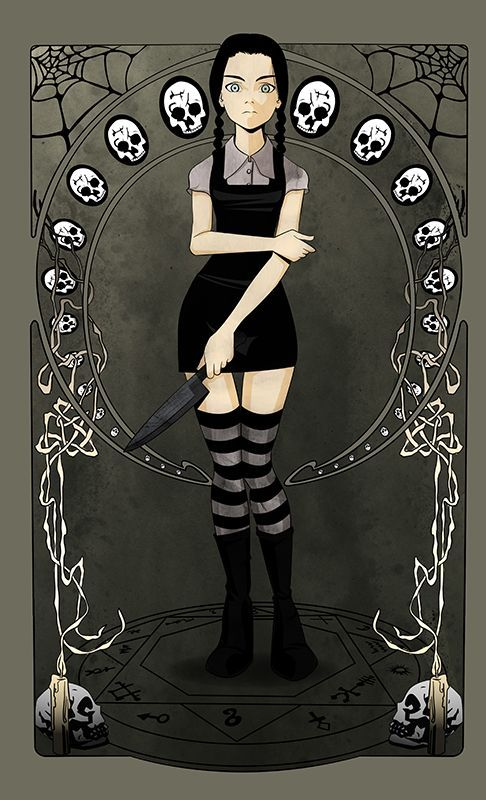 Wednesday addams | Halloween | Pinterest | Wednesday Addams ...