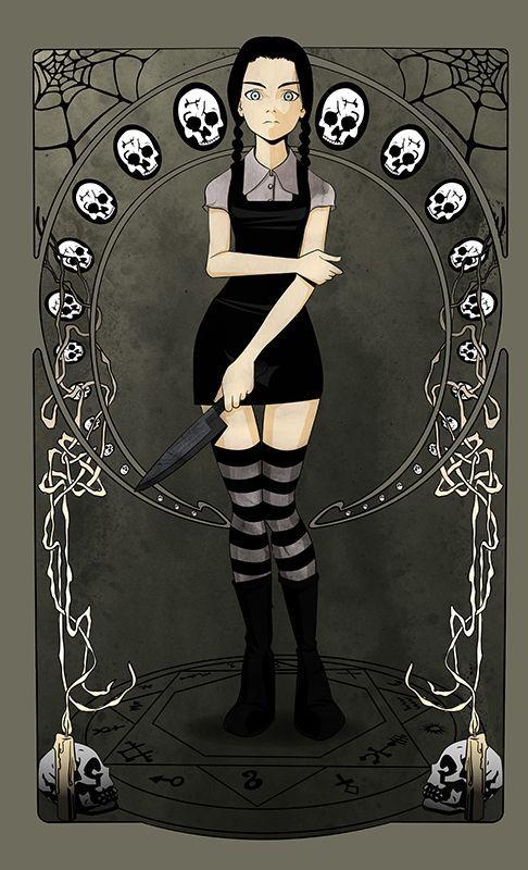 Wednesday addams   Halloween   Pinterest   Wednesday Addams ...