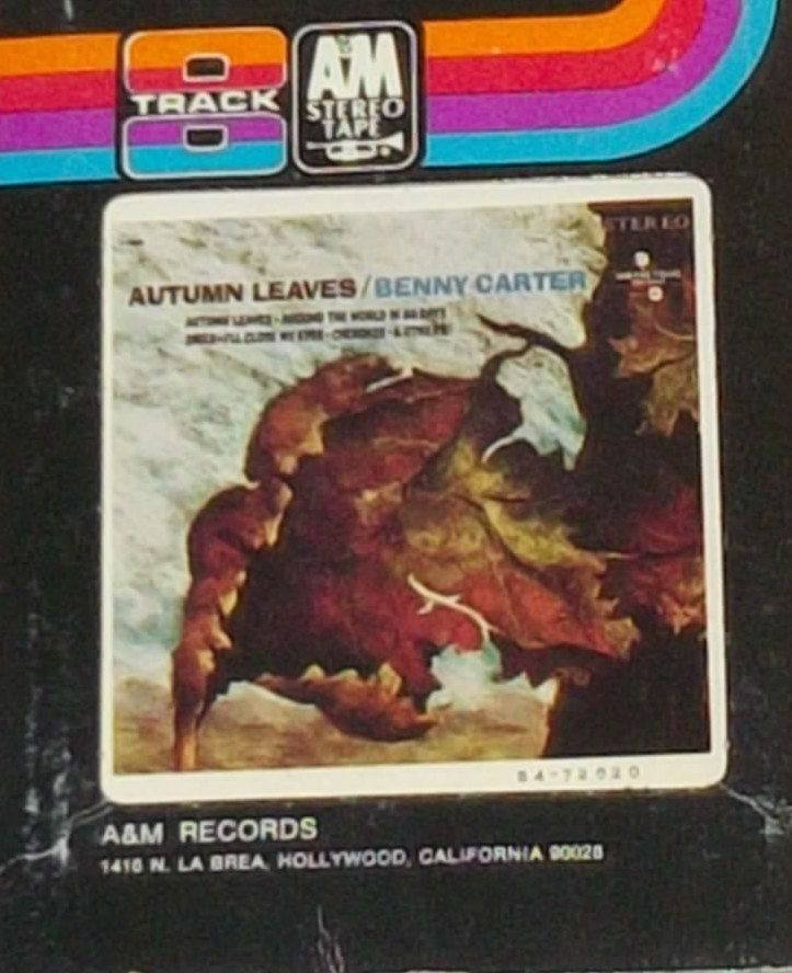 Benny Carter Autumn Leaves Jazz 8-Track Tape by RASVINYL on Etsy
